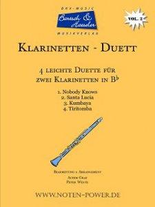 4 leichte Duette für Klarinette in Bb, Vol. 2