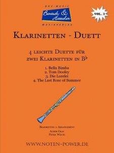 4 leichte Duette für Klarinette in Bb, Vol. 3