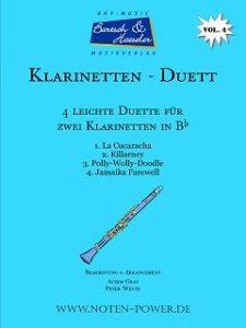 4 leichte Duette für Klarinette in Bb, Vol. 4