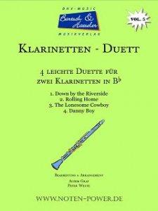 4 leichte Duette für Klarinette in Bb, Vol. 5