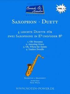 4 leichte Duette für Saxophon, Vol. 1
