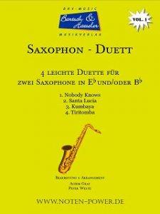4 leichte Duette für Saxophon, Vol. 2