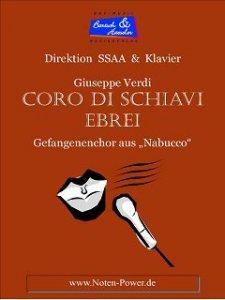 CORO DI SCHIAVI EBREI (Gefangenenenchor)