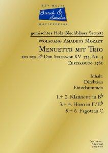 Menuetto mit Trio, KV 375