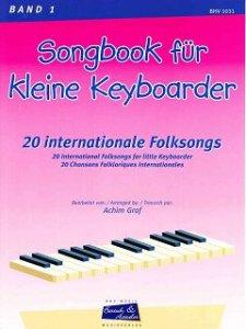 Songbook für kleine Keyboarder, Bd. 1