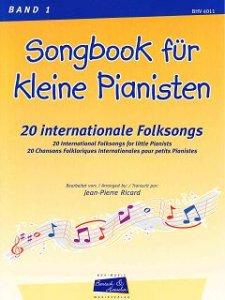 .Songbook für kleine Pianisten, Bd. 1