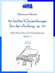 50 leichte Klavierübungen für den Anfang, op. 70