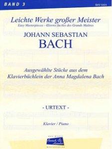 Bach, J.S., Aus dem Klavierbüchlein der Anna Magdalena Bach