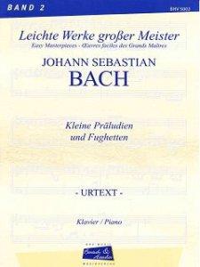 Bach, J.S., 15 kleine Präludien und Fughetten