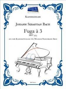 Bach, J.S., Fuga à 3 BWV 953
