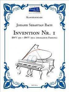 Bach, J.S., Invention Nr.1, BWV 772 und BWV 772a