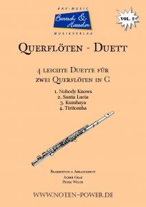 4 leichte Duette für Querflöte in C, Vol. 2