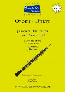 4 Easy Duets for Oboe in C, Vol. 2