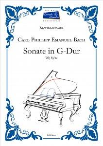 Bach, C.Ph.E., Sonate in G-Dur Wq 65/22