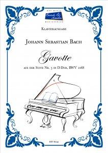Bach, J.S., Gavotte BWV 1068