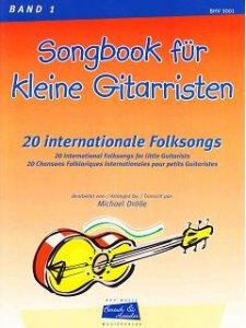 Songbook für kleine Gitarristen, Band 1