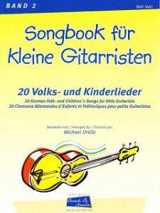 Songbook für kleine Gitarristen, Band 2