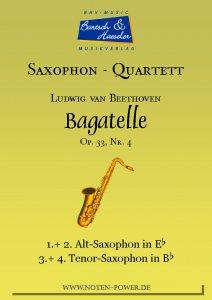 Bagatelle, op. 33, Nr. 4