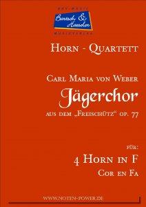 Jägerchor, op. 77