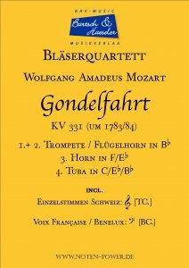 Gondelfahrt, KV 331