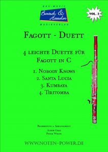 4 leichte Duette für Fagott in C, Vol. 2