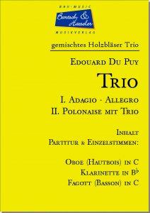 Trio (I. Adagio-Allegro, II. Polonaise)