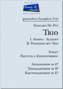 Trio (I. Adagio-Allegro, II. Polonaise) -ATB-