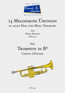 24 Melodische Übungen für Trompete, op. 20