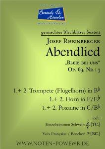 Abendlied, op. 69, Nr. 3
