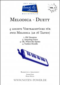4 leichte Duette für Melodica, Vol. 1