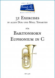 31 Exercises für Euphonium in C