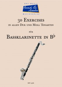 30 Exercises for Bass Clarinet in Bb