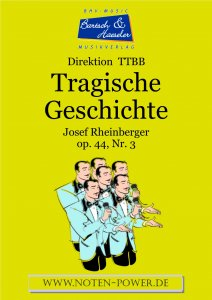 Tragische Geschichte, op. 44, Nr. 3
