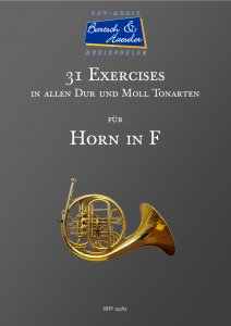 31 Exercises für Horn in F