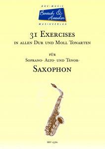 31 Exercises für Saxophon