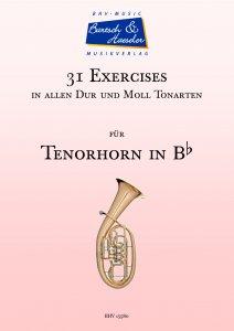 31 Exercises für Tenorhorn in Bb