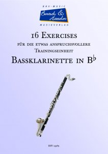 16 Exercises for Bass Clarinet in Bb