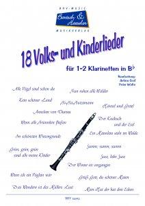 18 Folk and Children's Songs