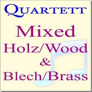 Mixed Wood+Brass